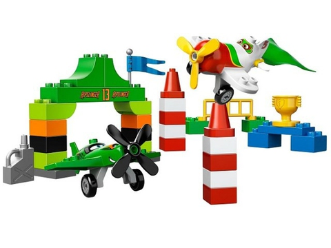 LEGO Duplo: Воздушная гонка рипслингера 10510 — Ripslinger's Air Race — Лего Дупло