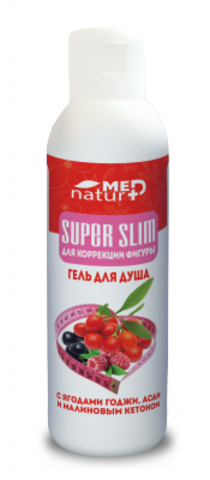 Гель для душа SUPER SLIM для коррекции фигуры 250мл Институт натуротерапии ТМ Натурмед