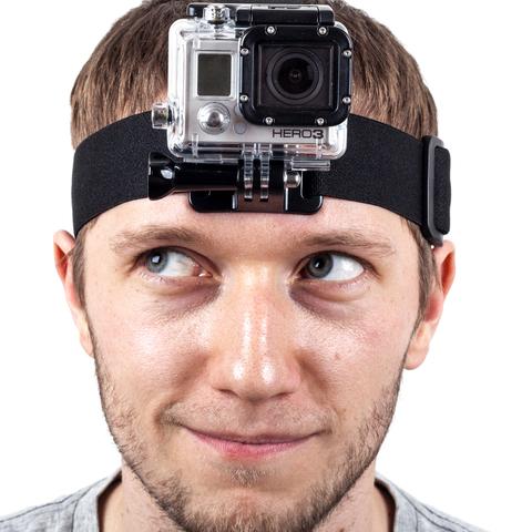 Крепление на голову для GoPro в аренду в Перми
