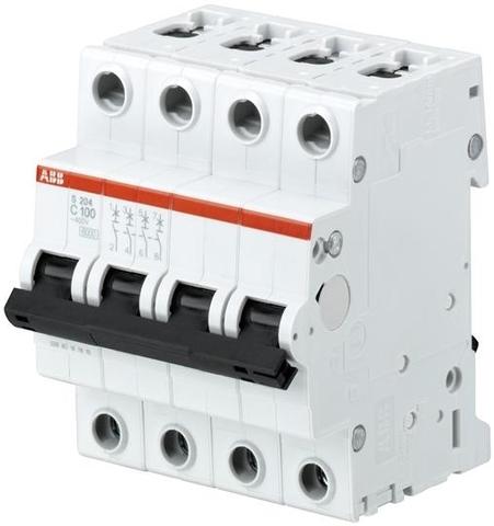 Автомат.выкл-ль 4-полюсной S204 K1.6