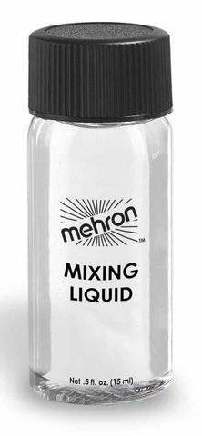MEHRON Жидкость для фиксации блесток и пигментов на лице и теле Mixing Liquid, .5 oz. - 15 мл