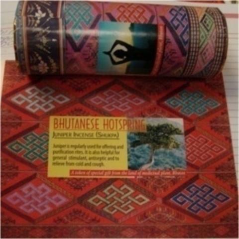 Благовония  Juniper Bhutanese Можжевельник