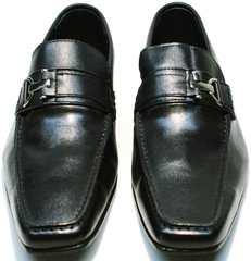 Хорошие мужские туфли под костюм Mariner 4901 Black.
