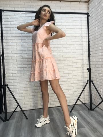Короткое платье-сарафан купить