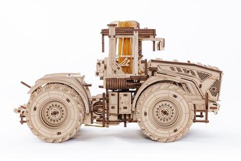 Трактор Кировец К-7М от EWA - Деревянный конструктор, сборная модель, 3D пазл