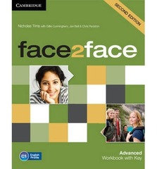 face2face (Second Edition) Advanced Workbook with Key