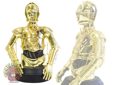 Gentle Giant C3PO Gold-Plated Bust