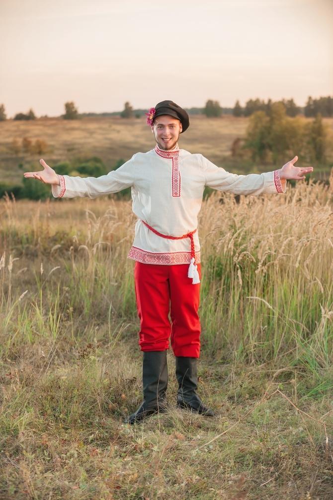 Мужской русский костюм Раздолье