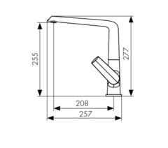 Смеситель KAISER Areva 08044 для кухни схема