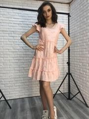 Короткое платье-сарафан недорого