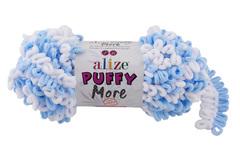 Пряжа Alize Puffy More цвет 6266