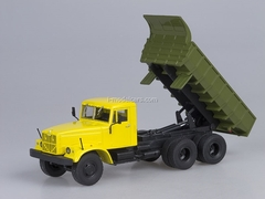 KRAZ-256 B1 Tipper yellow-green 1:43 AutoHistory