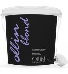 OLLIN blond осветляющий порошок с ароматом лаванды 500г/ blond powder aroma lavande