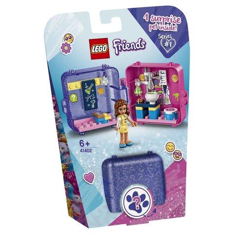 LEGO Friends: Шкатулка Оливии 41402 — Olivia's Play Cube - Researcher — Лего Френдз Друзья Подружки