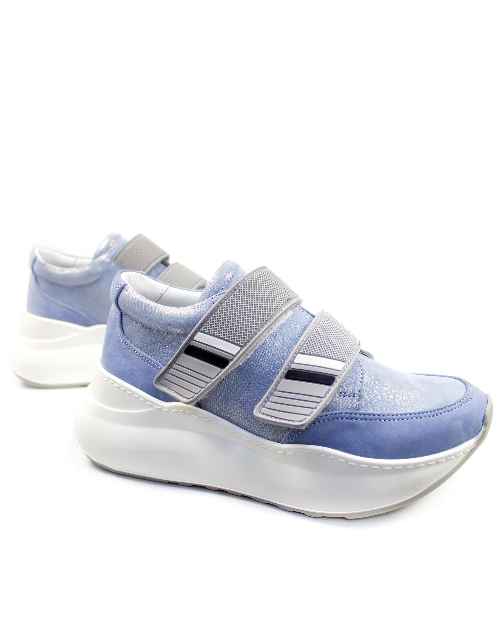 синие кроссовки Alpino