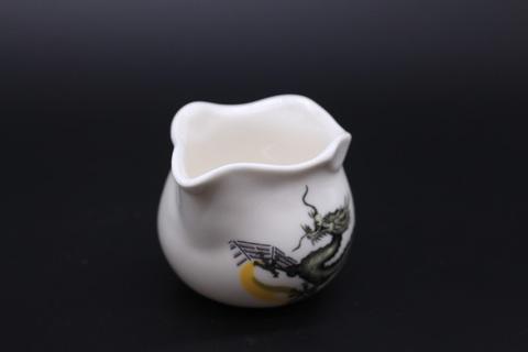 Сливник с драконами, фарфор, 200мл