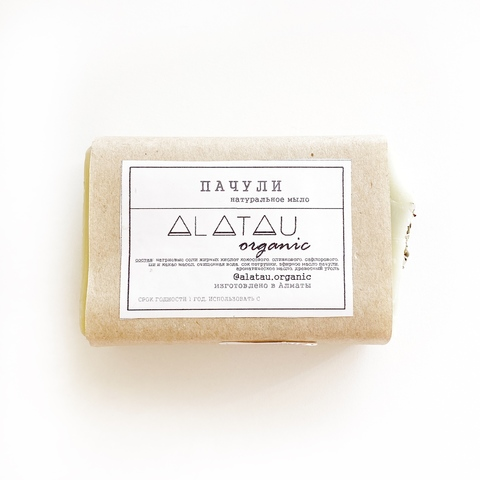 Мыло Пачули (Alatau Organic)