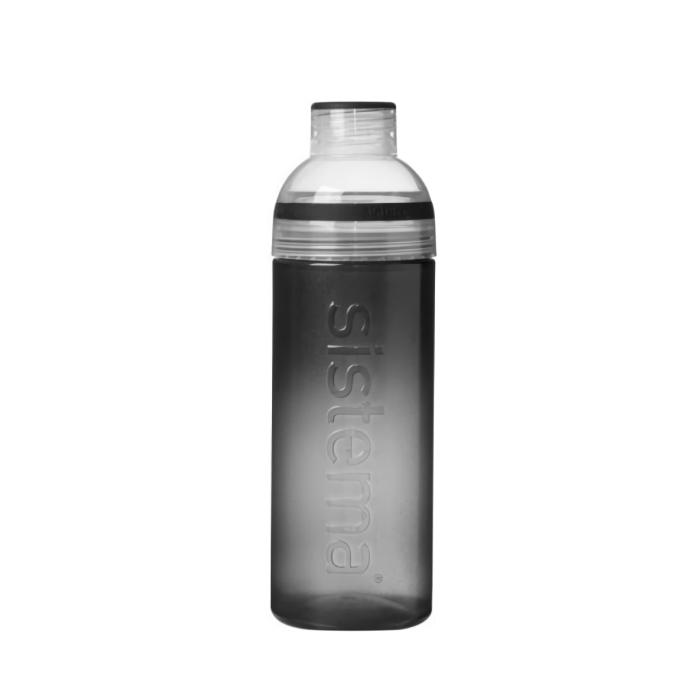 """Бутылка для воды Sistema """"Hydrate"""" 700 мл, цвет Черный"""