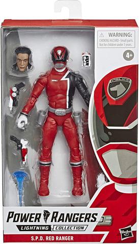 Power Rangers Lightning Collection – S.P.D. Red Ranger