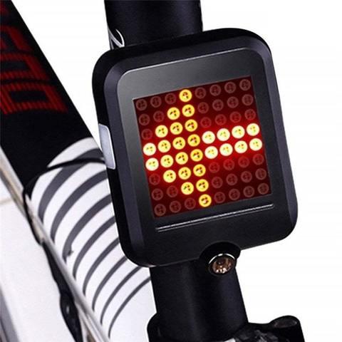 Фонарь для велосипеда с датчиками