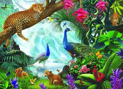 Алмазная Мозаика + Багет 40x50 Контрасты природы