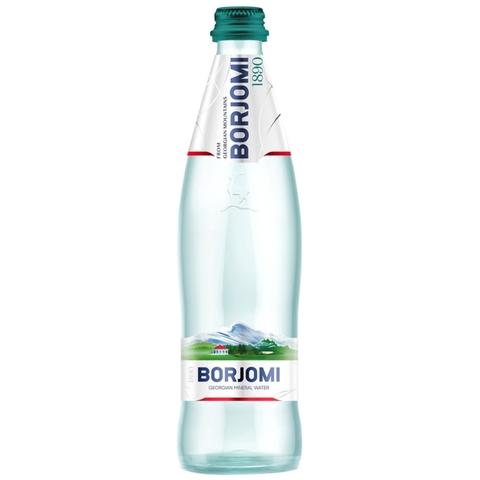 Вода минеральная лечебно-столовая BORJOMI газ 0,5 л ст/б ГРУЗИЯ