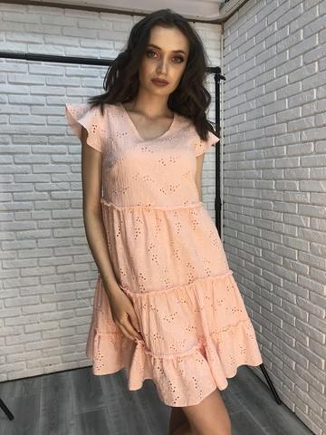 Короткое платье-сарафан Nadya
