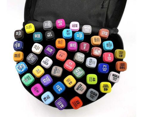 Набор маркеров для скетчинга, 48 цветов