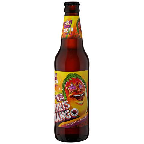 Chris Mango / Крис Манго (пивной напиток пастеризованный нефильтрованный)