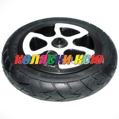 Колесо для детской коляски №007057 надув 10 дюймов (10х1,75х2) (втулка на ось 8 мм) (Adamex, BeBe-Mobile)