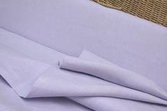 Ткань льняная, цвет : лаванда