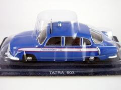 Tatra 603 Public safety Czechoslovakia 1:43 DeAgostini World's Police Car #57