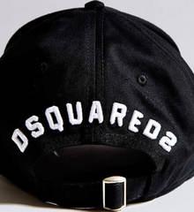 Мужская бейсболка кепка Dsquared2 Icon 03-6794-9931-Black.