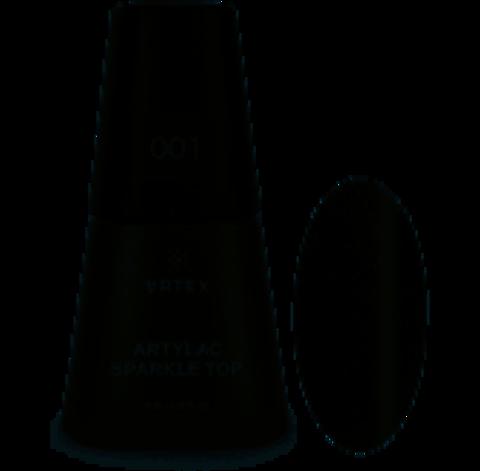 ARTEX Artylac sparkle top 001 8 мл