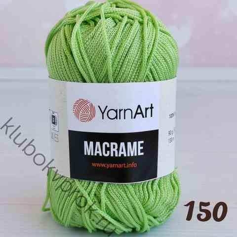 YARNART MACRAME 150, Салатовый