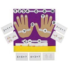 Дидактический коврик-считалка Пальчики, Smile Decor Ф278