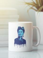 Кружка с рисунком Фрида Кало (Frida Kahlo) белая 0011