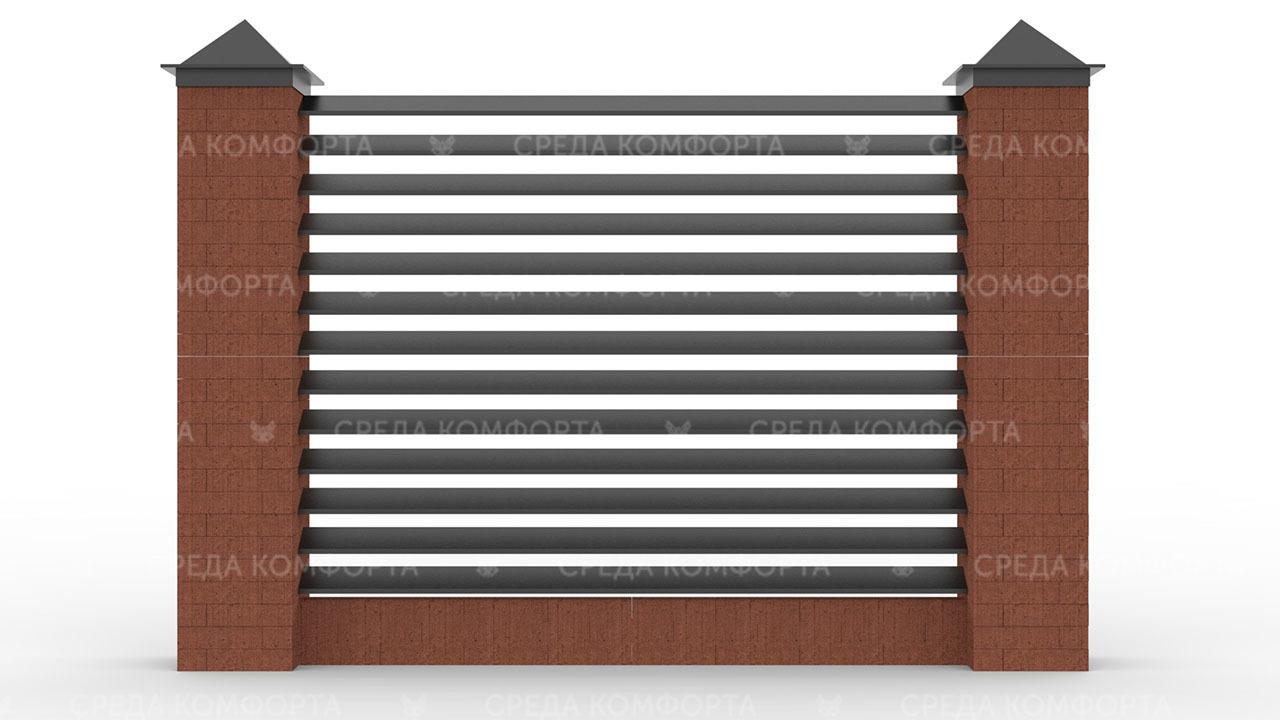 Забор жалюзи ZBR0119