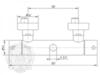 Смеситель для душевой колонны термостатический  Migliore  Fortis ML.FRT-5476 схема