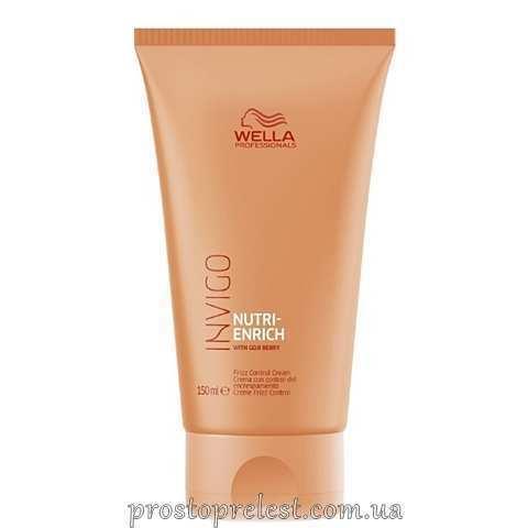Wella Invigo Nutri-Enrich Frizz Control Cream - Розгладжуючий крем-флюїд