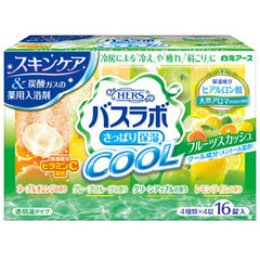Соль для ванны Hakugen с ароматом мяты цветов и зелени 16 таб