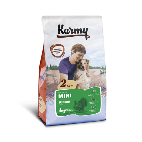 Karmy Mini Junior Индейка, 2кг.