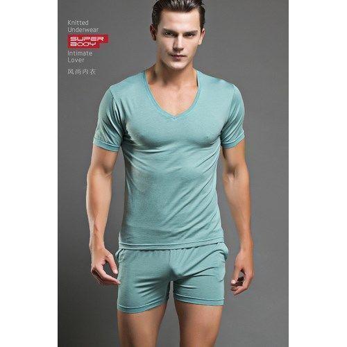 Мужская футболка Superbody Emerald (светлый изумруд)  18470