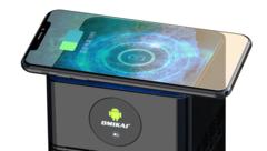 Смарт ТВ-приставка OMIKAI K1 4/32 Гб Android 10.0 с беспроводной зарядкой для телефона