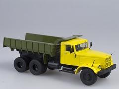 KRAZ-256 B1 Tipper yellow-green 1:43 AutoHistory
