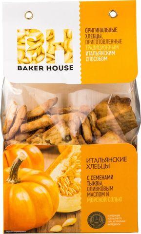 Хлебцы итальянские с семенами тыквы Baker House, 250г