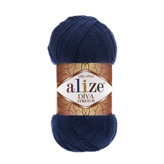Пряжа Alize Diva Stretch цвет 361