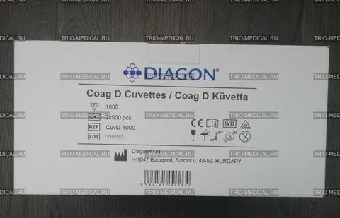 CuvD-500 Кюветы, 500 шт (Cuvettes 500 pcs) - Diagon Ltd. (Диагон), Венгрия