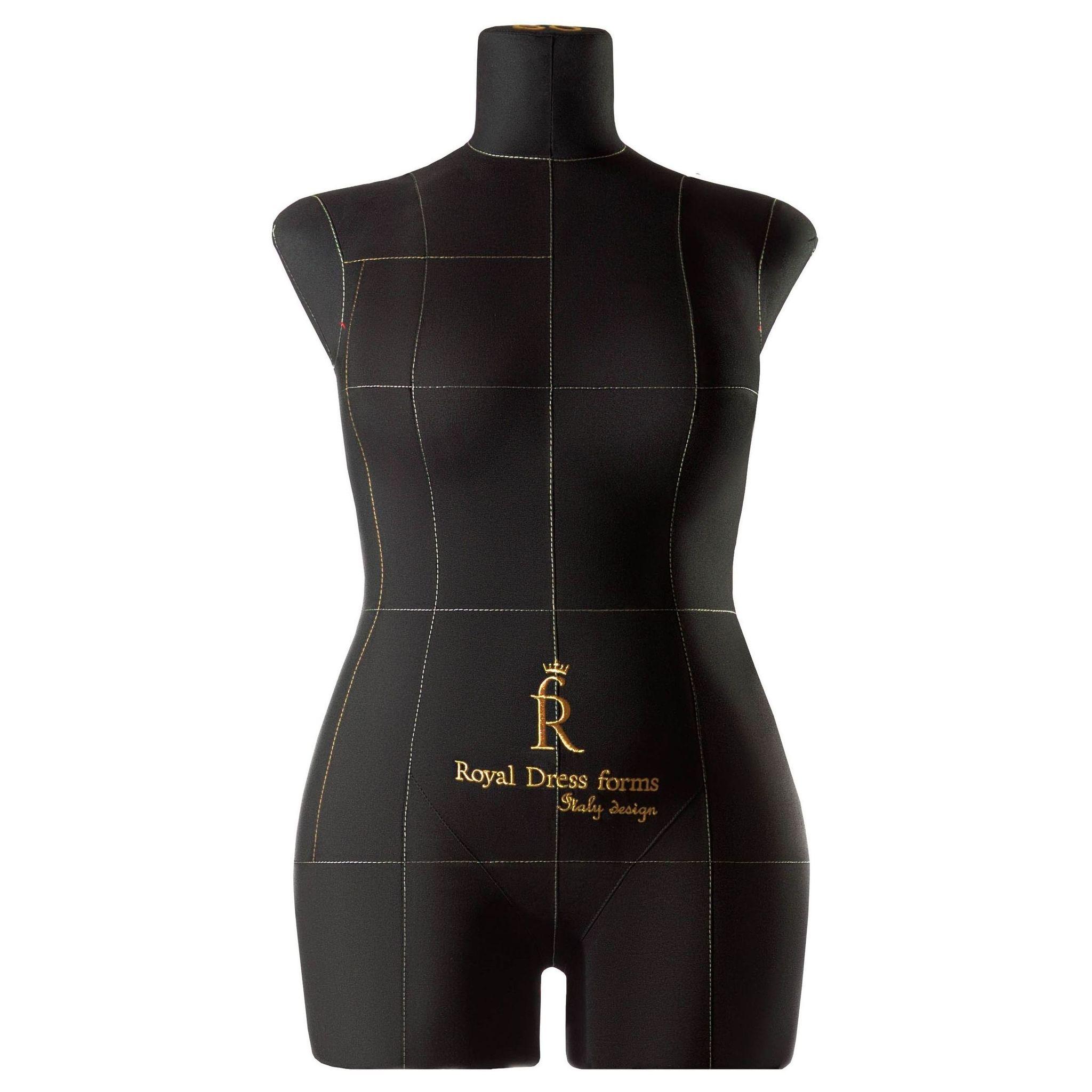 Манекен портновский Моника, комплект Премиум, размер 50, ЧерныйФото 1