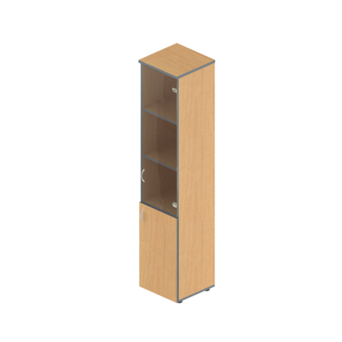 А-24.0 + А-01.1 Шкаф узкий комбинированный (40x40x191)